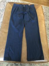 New listing Izod Size 18 Husky Uniform Boys Blue Pants Adjustable Waist Nwt Navy pleated