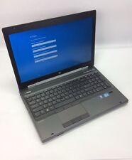 HP EliteBook 8570W I7-3540M 3.0GHZ 16GB DDR3 500GB HDD Windows 10 #U-4534