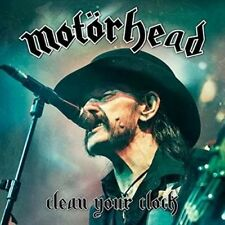 Motorhead Clean Your Clock 2 X 180g Coloured Vinyl LP Download New/