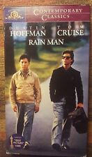 Rain Man Dustin Hoffman, Tom Cruise (VHS)