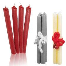 Corone e candele d'Avvento rosso