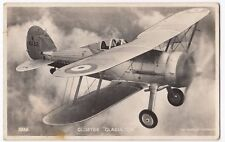 RAF Gloster Gladiator Fighter Biplane RP PPC Unposted, By Valentines / Aeroplane