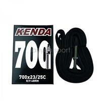 KENDA Road Bike Tube 700x23c to 25c Presta Vlave Bicycle Inner Tube 700c