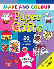 Make & Colour Paper Gifts, Clare Beaton, New Book
