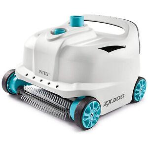 Intex 28005E 700 Gal Per Hour Pool Cleaner Robot Vacuum w/ 21 Ft Hose (Open Box)