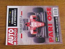 $$$ Revue Auto hebdo N°816 Ferrari F92 AProst LigierMazda MX-6Calibra 16V
