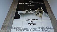 alain delon L'ASSASSINAT DE TROTSKY !  Joseph Losey  affiche cinema 1972