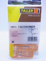 Lot 16820 Faller Ho 180915 2 Plattenhubwagen Kit Modellbahn Neuf Dans Emballage
