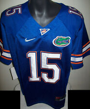 FLORIDA GATORS #15 TEBOW Sewn Jersey BLUE, ORANGE, WHITE M, L, XL, 2X, 3X