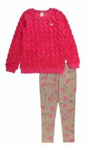 Juicy Couture Girls Sweater 2pc Legging Set Size 2T 3T 4T 4 5 6 6X 7 8/10 12