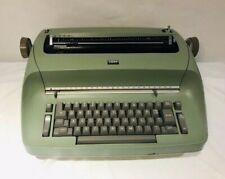 Vintage Ibm Selectric Green Electric Typewriter Testednot Working As Is