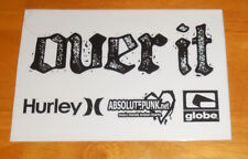 Over It Hurley Absolute Punk Sticker Original Promo (rectangle) 6x4