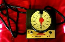 TIME-O-LIGHT PROFESSIONAL DARKROOM TIMER--INDUSTRIAL TIMER CORP--P-59--EXC.COND.