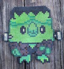Frankenrowlet Rowlet Pokémon Pixel Art Perler Bead Art