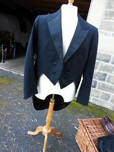 Vintage black tailcoat 1920's/1930's in good condition