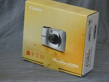 Canon PowerShot A1200 12.1MP Digital Camera - Silver