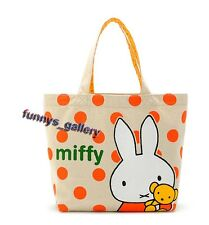 Miffy Rabbit Canvas Mini Tote Handbag Bento Snack Bag