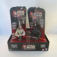 Star Wars Episode I - Spin Pop Candy FULL RETAIL DISPLAY Qui-Gon Jinn Darth Maul