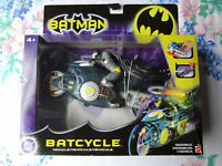 DC Comics Mattel Batman Batcycle New In Box 2003