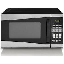 Microwave Oven Stainless Steel Reheat 1-Touch Cooking Home Kitchen Appliance