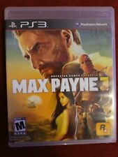 Max Payne 3 (Sony PlayStation 3, 2012) PS3 COMPLETE CIB Black label Mint Disc!