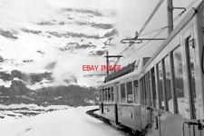 PHOTO  SWITZERLAND VIEW FROM TRAIN CARRIAGE  BETWEEN WENGEN AND KLEIN SCHEIDEGG