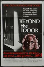 """Beyond Die Tür 1974 Orig 68.6X104cmA """" Film Poster Juliet Mills Richard Johnson"""