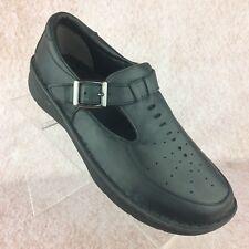 DREW Amelia Dark Gray Mary Jane Orthopedic Shoes Sandals Size 7.5 WW extra wide!
