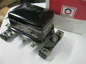Delco-Remy  1119625  Voltage Regulator 12 Volts Neg.