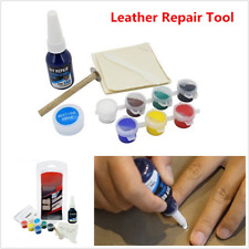Leather Vinyl Repair Kits For Car Seat Sofa Coats Holes Scratch Restoration Tool