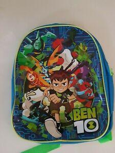Ben 10  School Bag Kids Backpack Travel Rucksack Gift 12''  with shake lights