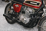 HONDA CB500/550  All Black Exhaust 4 into 1