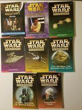 Star Wars Mission & Adventure series YA Sci-Fi