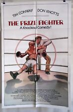 PRIZE FIGHTER ORIGINAL 1979 1SHT MOVIE POSTER FOLDED TIM CONWAY DON KNOTTS EX