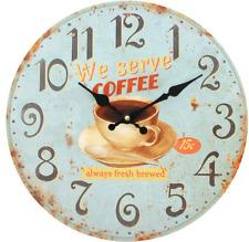 Jones Kitchen Coffee Wall Clocks
