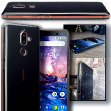 Nokia 7 PLUS   Case Impact Displacement System Duragel Design Clear Transparent