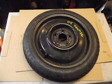 "CAVALIER SUNFIRE MORE OEM SPARE WHEEL RIM AND TIRE 14"" 14x4 5x100"