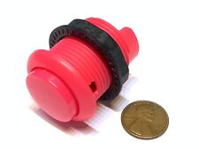 1 Piece Pink Arcade momentary PUSH BUTTON SWITCH DC N/O normally open on/off B28