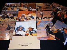 GERONIMO ! walter hill m damon jeu 12 photos cinema lobby cards western indien