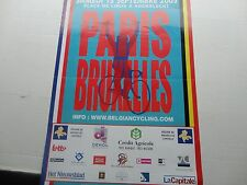 Cyclisme, ciclismo, wielrennen, cycling, AFFICHE PARIS-BRUXELLES 2003