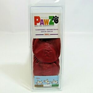 Protex Pawz Natural Rubber Waterproof Dog Boots NEW 12 Small Paw Covers