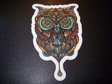 "MANIK APPAREL Art Sticker 4"" OWL Color skate skateboard from poster print"
