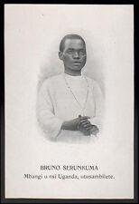 "santino-holy card""S.BRUNO SERUNKUMA M. IN UGANDA"