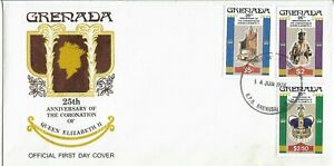 Grenada Clearance 1978 25th Anniversary of the Coronation FDC