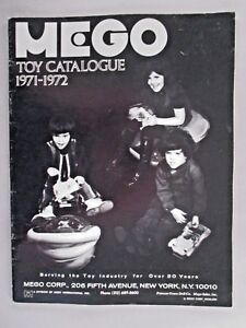 Mego Toy CATALOG - 1971-1972 ~~ toys