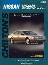 Nissan: Maxima 1993-98 (Chilton's Total Car Care Repair Manuals)-ExLibrary