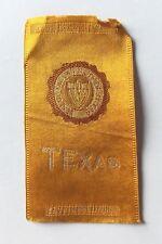 New listing 1910 Tobacco Cigarette Silk Texas (184)