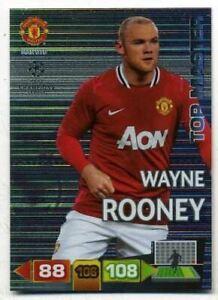 Champions League Adrenalyn 2011-2012 Wanye Rooney Top Master 11-12 Card