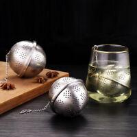 304 Stainless Steel Spice Ball Herb Tea Infuser Loose Leaf Tea Strainer Filter
