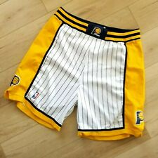 100% Authentic Pacers Reebok Game Worn Issued Shorts 42 2XL 3XL Mens